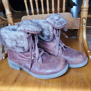 Mossimo Faux Fur Boots